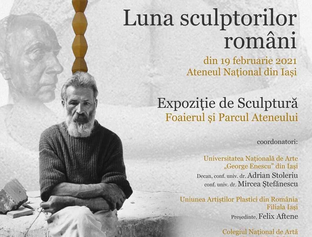Luna sculptorilor români